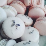 Lavender Earl Grey and Raspberry Macarons by Yours Truly